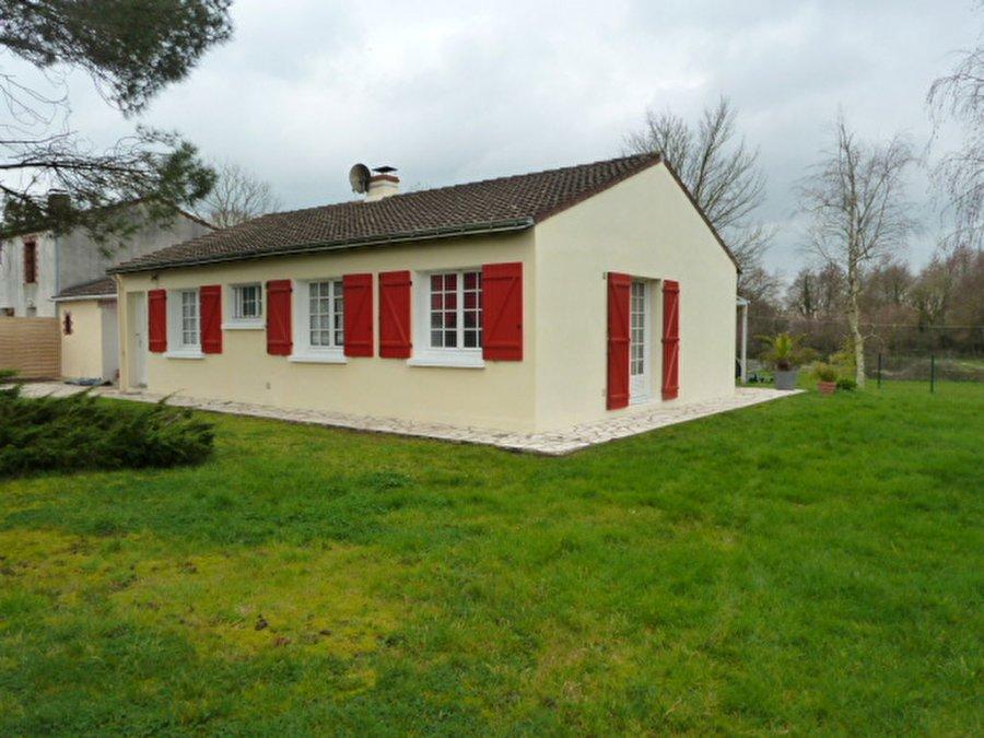 Maison individuelle en vente saint aignan grandlieu 90 for Vente maison individuelle 06