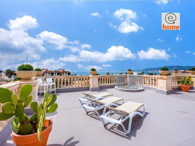 Penthouse à vendre 4 chambres à Palma de Mallorca