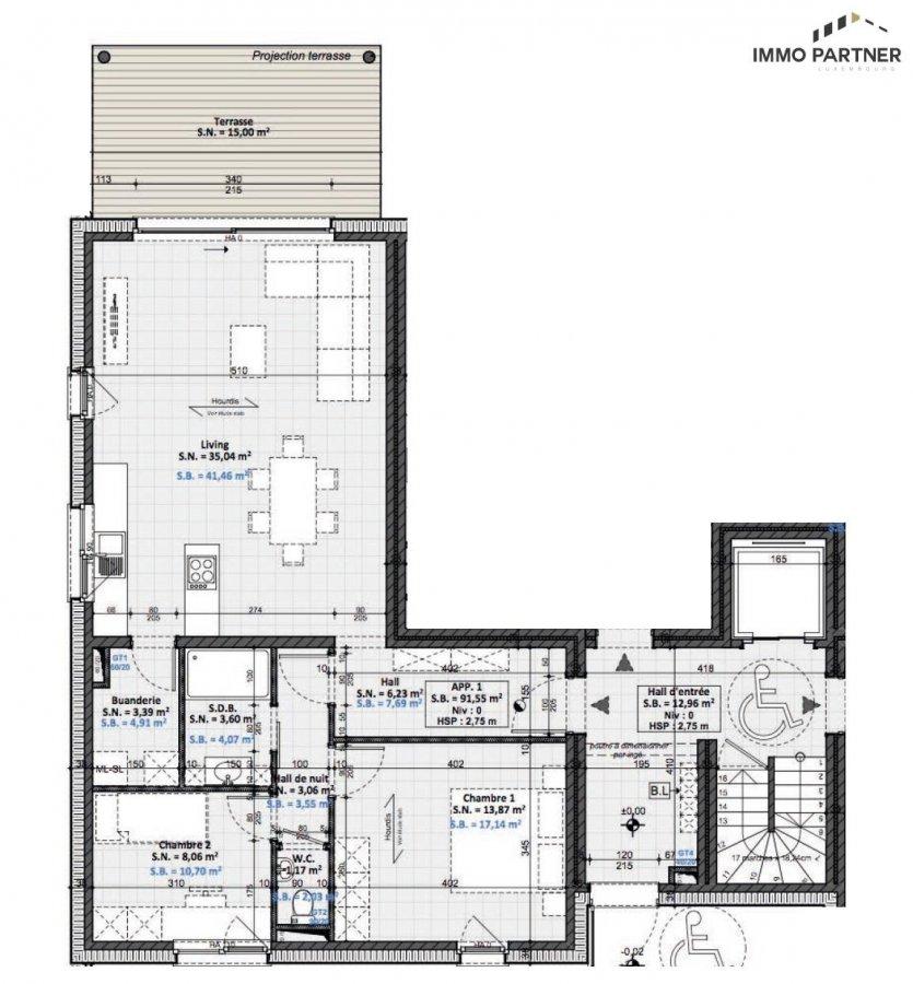 acheter appartement 2 chambres 73.73 m² wilwerdange photo 4