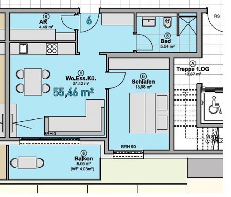 wohnung kaufen 2 zimmer 55.46 m² quierschied foto 5