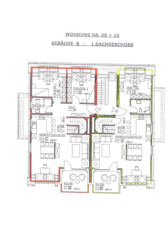 maisonette kaufen 3 zimmer 90.38 m² trier foto 7