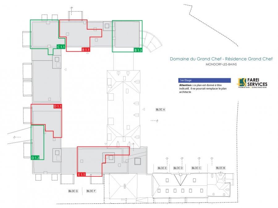 acheter appartement 2 chambres 86 m² mondorf-les-bains photo 3