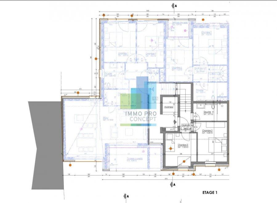 acheter penthouse 3 chambres 144.08 m² frisange photo 4