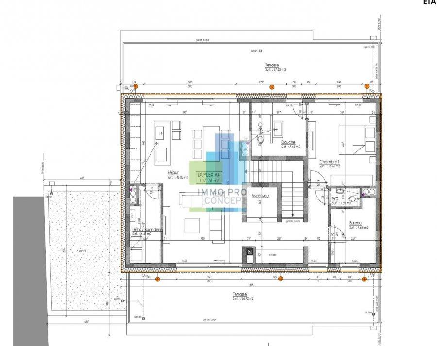 acheter penthouse 3 chambres 144.08 m² frisange photo 2
