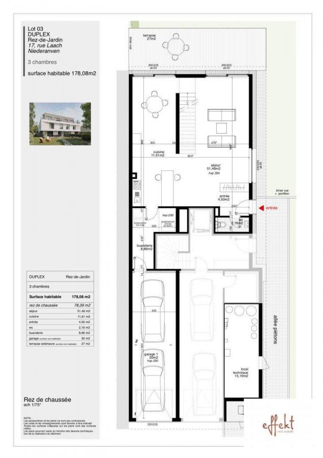 acheter maison jumelée 3 chambres 178.08 m² niederanven photo 7
