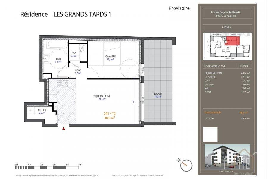 acheter appartement 0 pièce 48.5 m² longlaville photo 1