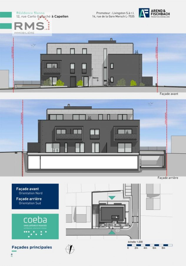 acheter résidence 0 chambre 45.58 à 86.06 m² capellen photo 5