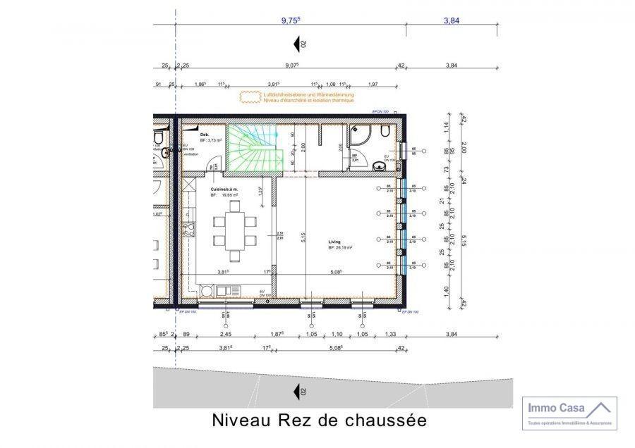 Terrain constructible à vendre à Michelau