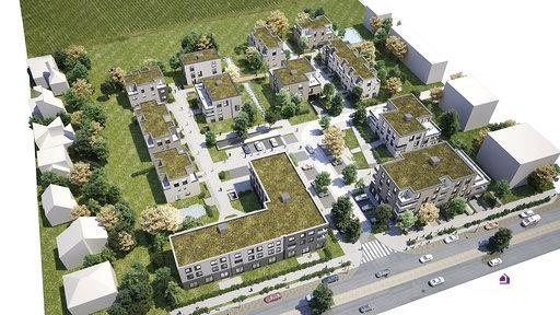 acheter penthouse 2 chambres 73.66 m² mertert photo 1