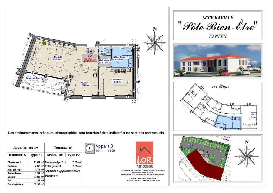 acheter appartement 2 pièces 51 m² hettange-grande photo 2