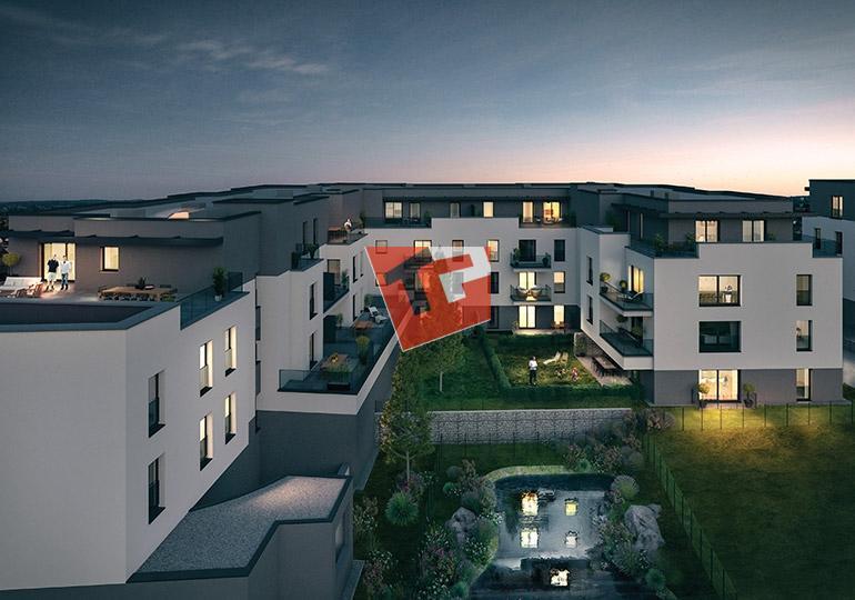 wohnung kaufen 3 schlafzimmer 132.91 m² howald foto 7