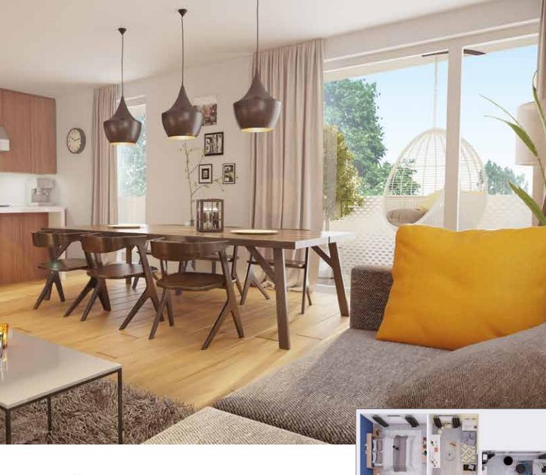acheter appartement 3 pièces 60.5 m² maxéville photo 1