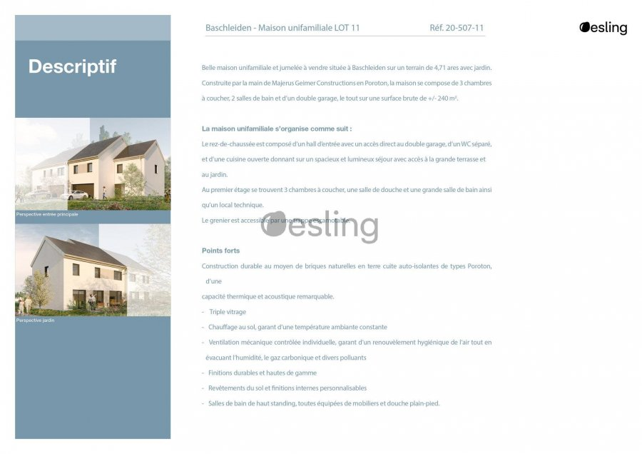 doppelhaushälfte kaufen 3 schlafzimmer 138.89 m² baschleiden foto 5