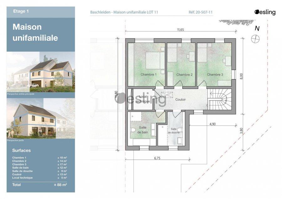 doppelhaushälfte kaufen 3 schlafzimmer 138.89 m² baschleiden foto 7