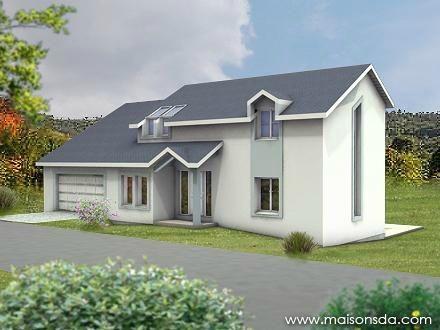 Modèle de maison à vendre F7 à