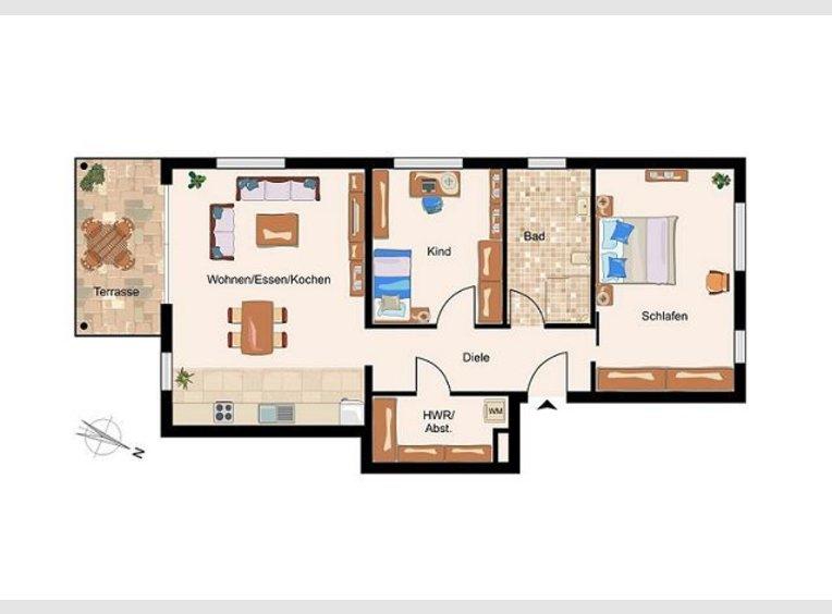 Wohnung zum Kauf 2 Zimmer in Mettlach (DE) - Ref. 4969965