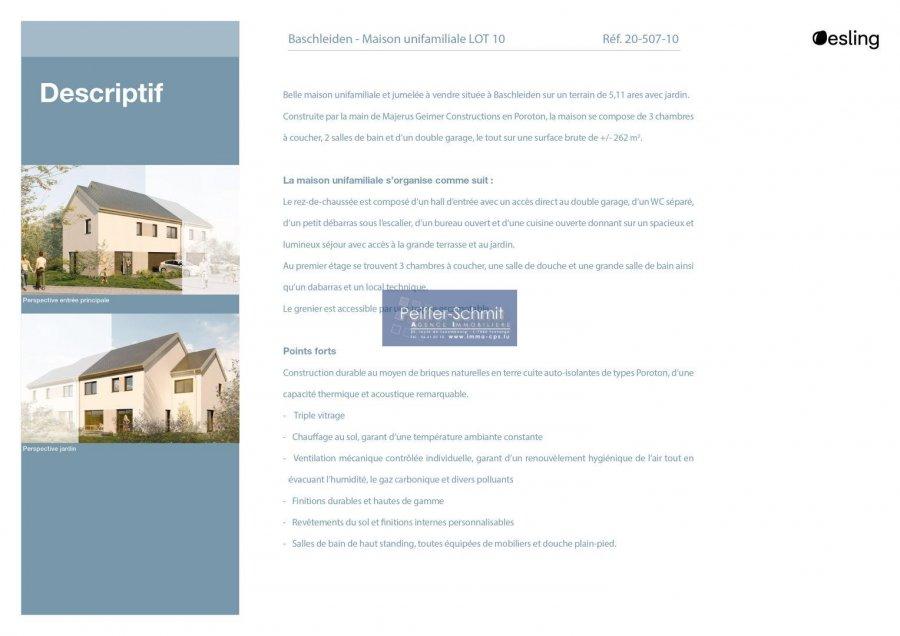 doppelhaushälfte kaufen 3 schlafzimmer 160 m² baschleiden foto 4