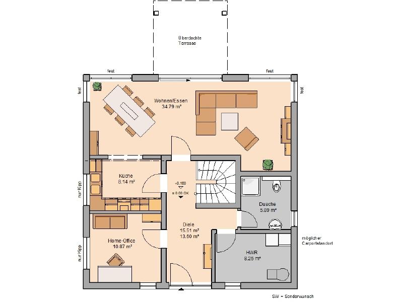 haus kaufen 6 zimmer 166 m² monzelfeld foto 3