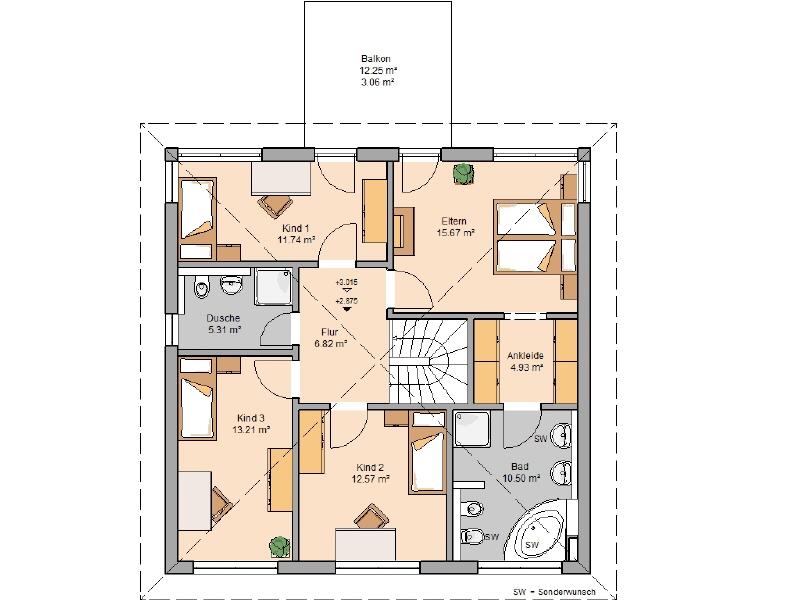 haus kaufen 6 zimmer 166 m² monzelfeld foto 4