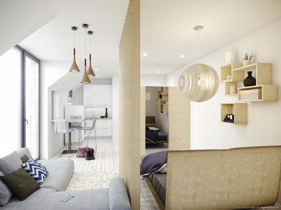 acheter studio 0 chambre 27.03 m² luxembourg photo 2