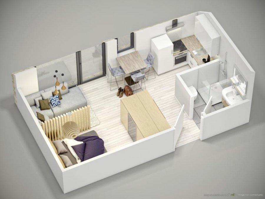 acheter studio 0 chambre 27.03 m² luxembourg photo 6