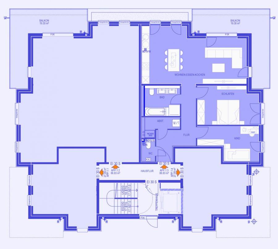 acheter appartement 2 chambres 94.55 m² strassen photo 2