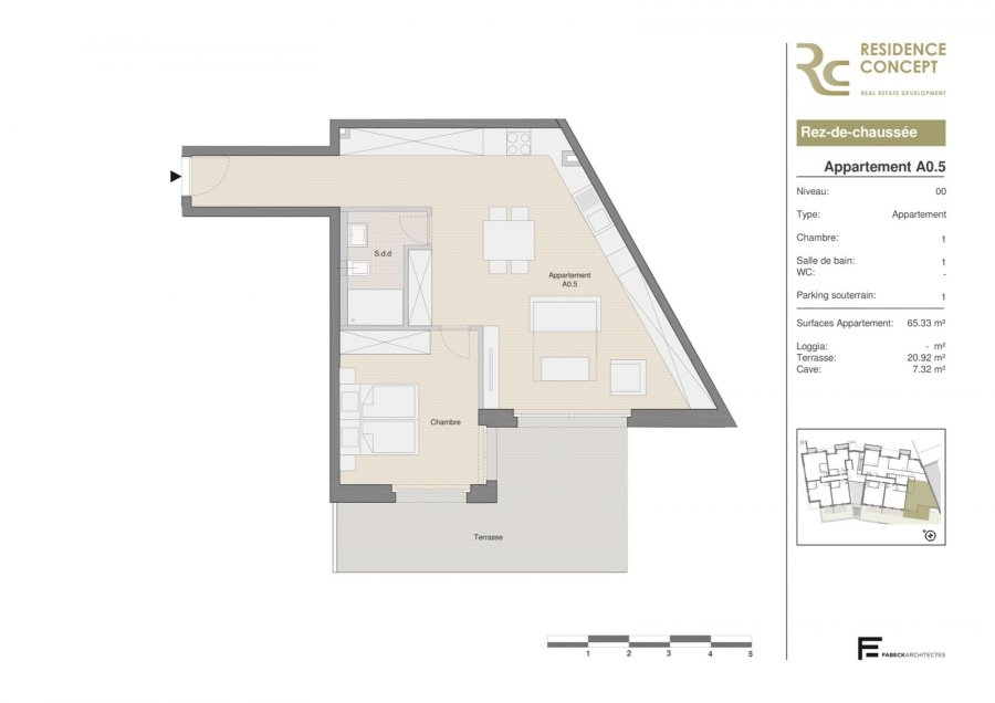 apartment for buy 1 bedroom 71.61 m² luxembourg photo 2