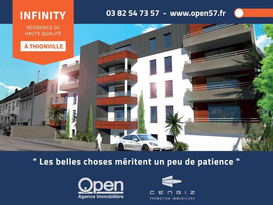 acheter appartement 3 pièces 66.58 m² thionville photo 1