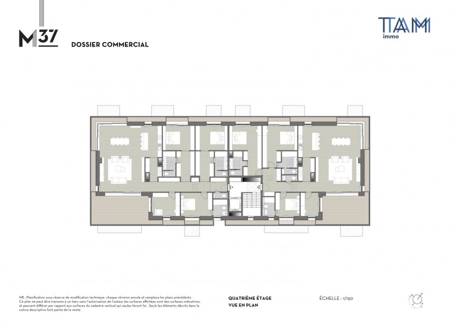 acheter penthouse 4 chambres 157.57 m² luxembourg photo 3