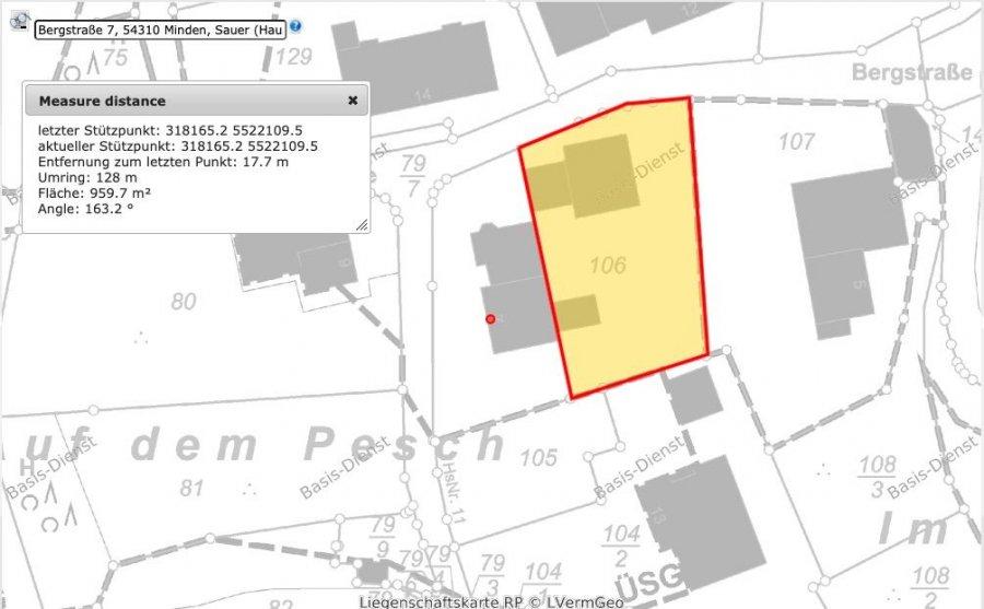 Terrain constructible à vendre à Minden