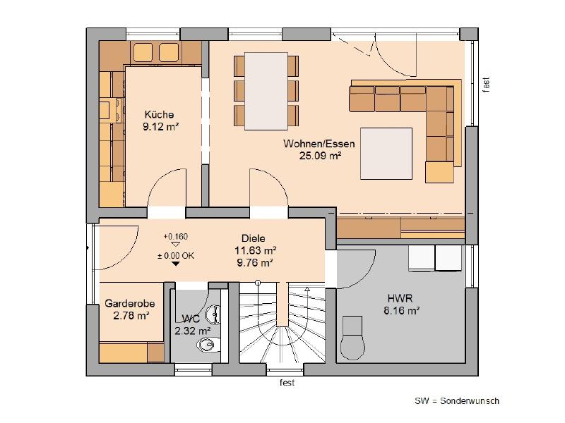 haus kaufen 4 zimmer 102 m² großlittgen foto 3