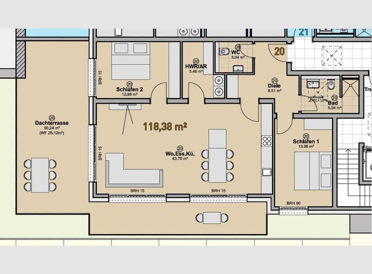 Appartement à vendre 3 Pièces à Quierschied (DE) - Réf. 7225358