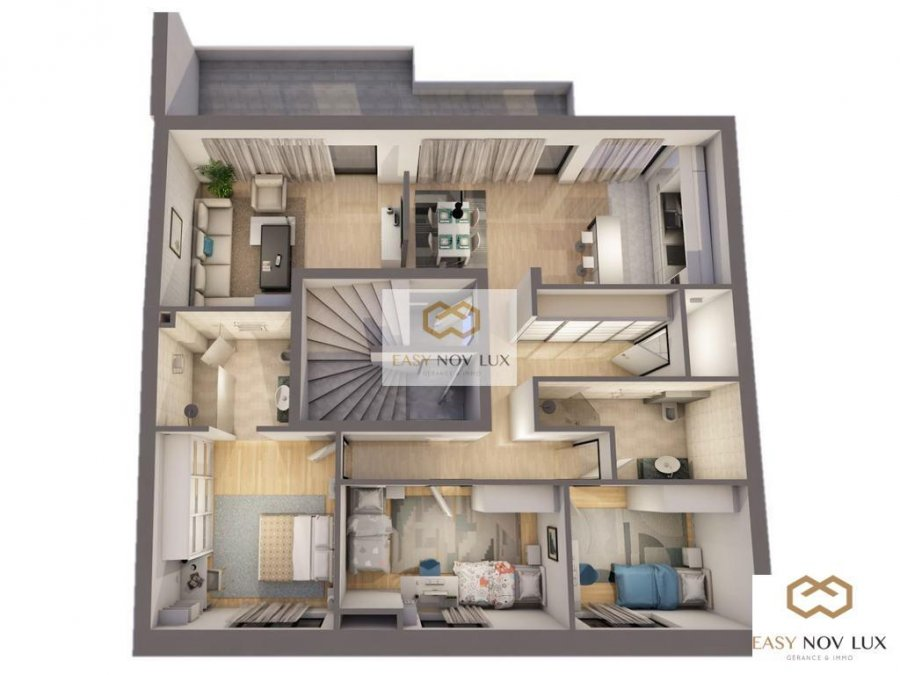 acheter appartement 3 chambres 120 m² lintgen photo 1