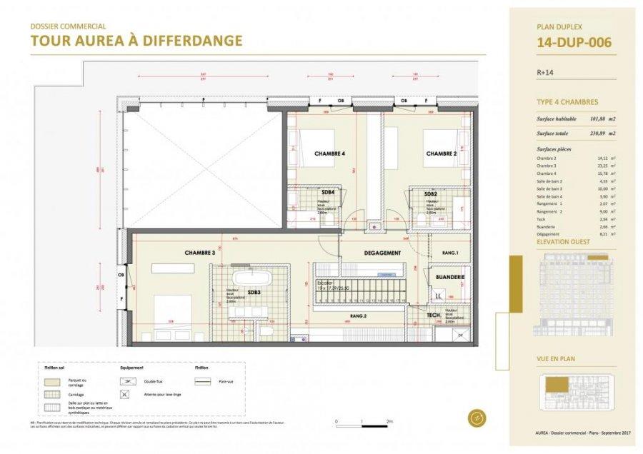 acheter duplex 4 chambres 237.23 m² differdange photo 5