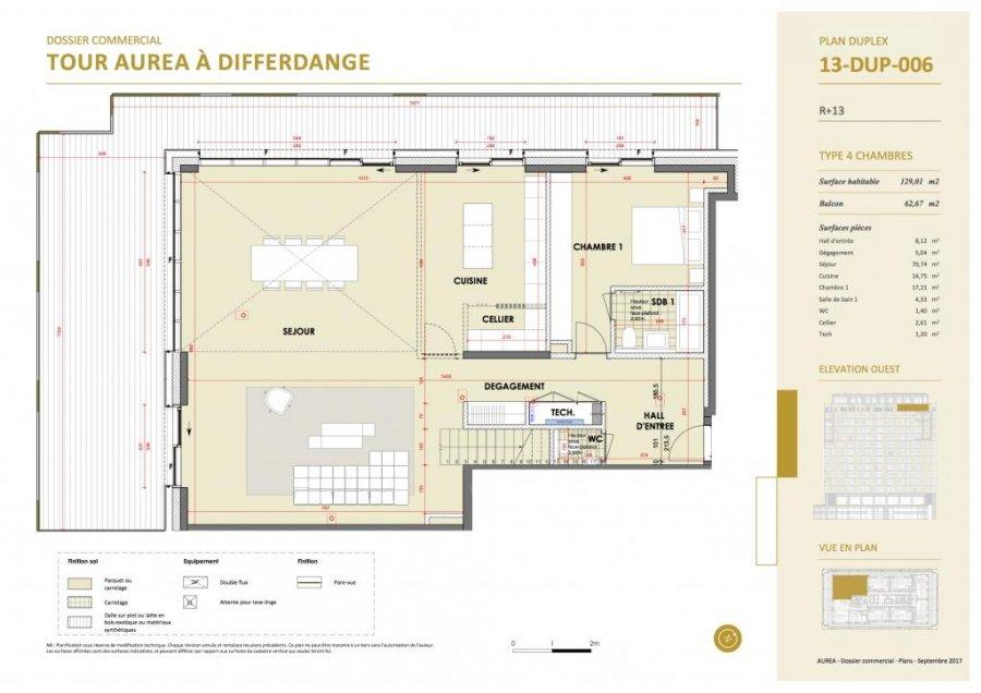 acheter duplex 4 chambres 237.23 m² differdange photo 4