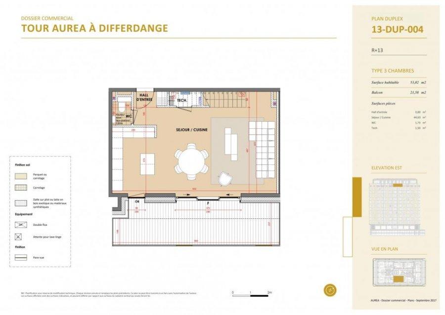acheter duplex 3 chambres 139.29 m² differdange photo 6