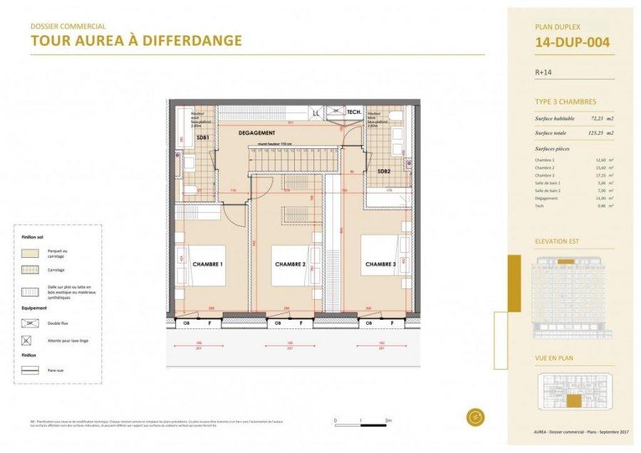 acheter duplex 3 chambres 139.29 m² differdange photo 7
