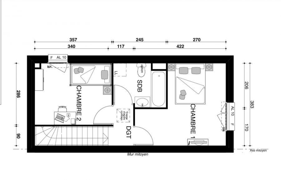 Maison à vendre F3 à Metz