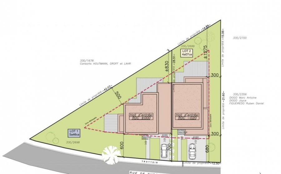 acheter maison mitoyenne 3 chambres 167 m² buschdorf photo 4