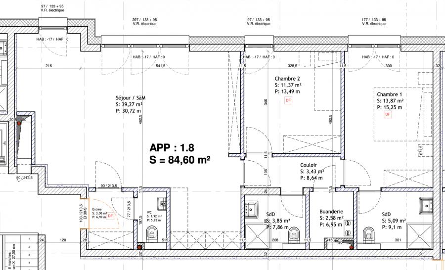 acheter appartement 2 chambres 87.67 m² mondorf-les-bains photo 2