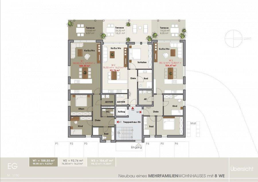 wohnanlage kaufen 0 zimmer 85.25 bis 110.16 m² tawern foto 5