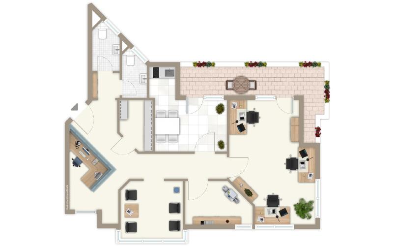 büro mieten 0 zimmer 95 m² trier foto 4