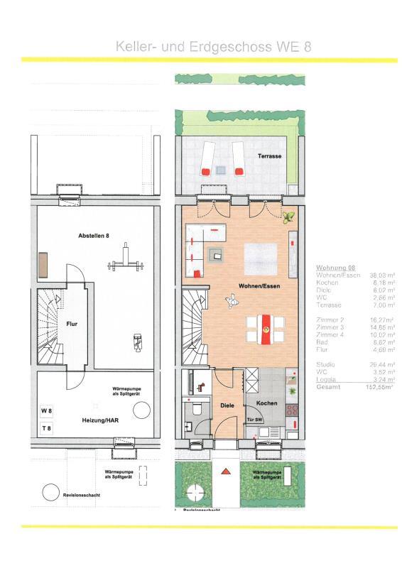 maisonette kaufen 5 zimmer 152.55 m² trier foto 2