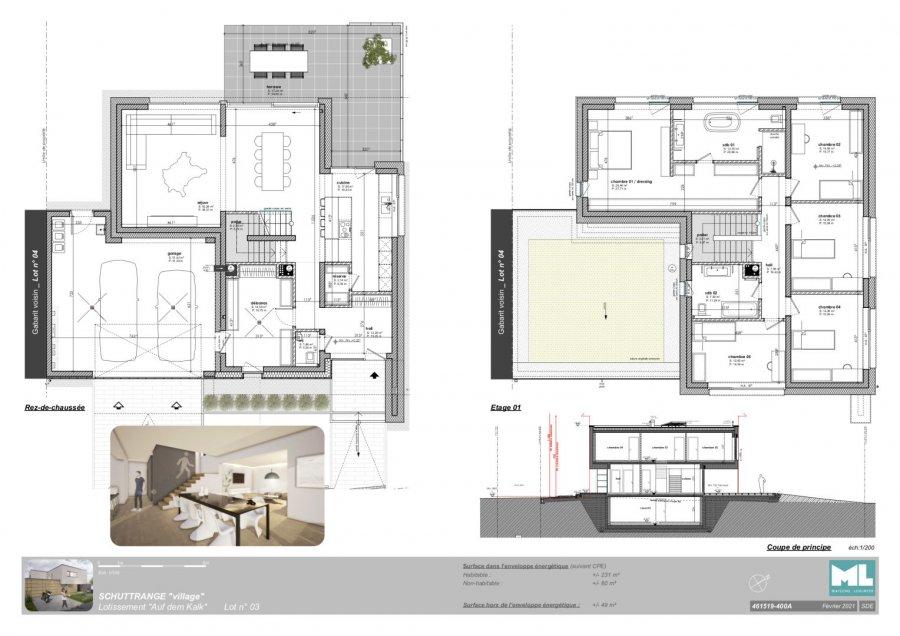 acheter maison 5 chambres 231 m² schuttrange photo 3