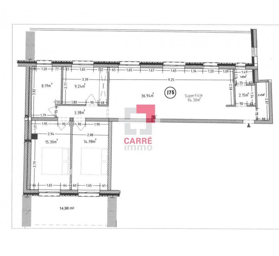 penthouse for buy 3 bedrooms 96 m² esch-sur-alzette photo 1