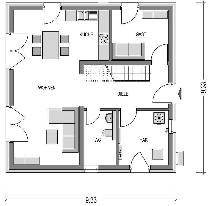 haus kaufen 5 zimmer 133 m² orenhofen foto 3