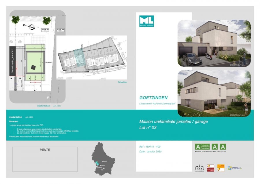 acheter maison 5 chambres 214 m² capellen photo 3