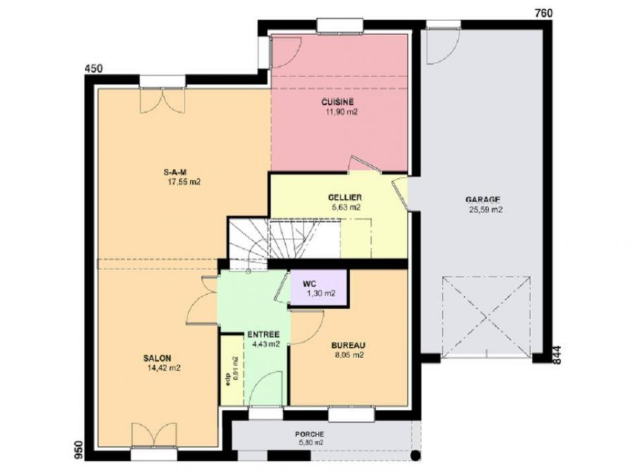 acheter terrain constructible 6 pièces 129 m² verny photo 3