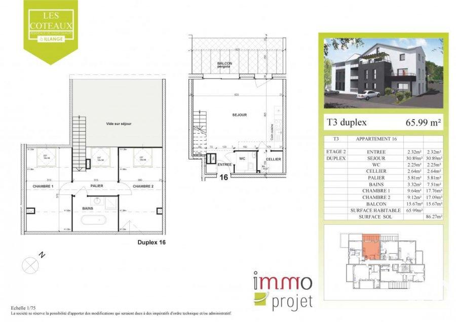 wohnung kaufen 3 zimmer 66 m² illange foto 3
