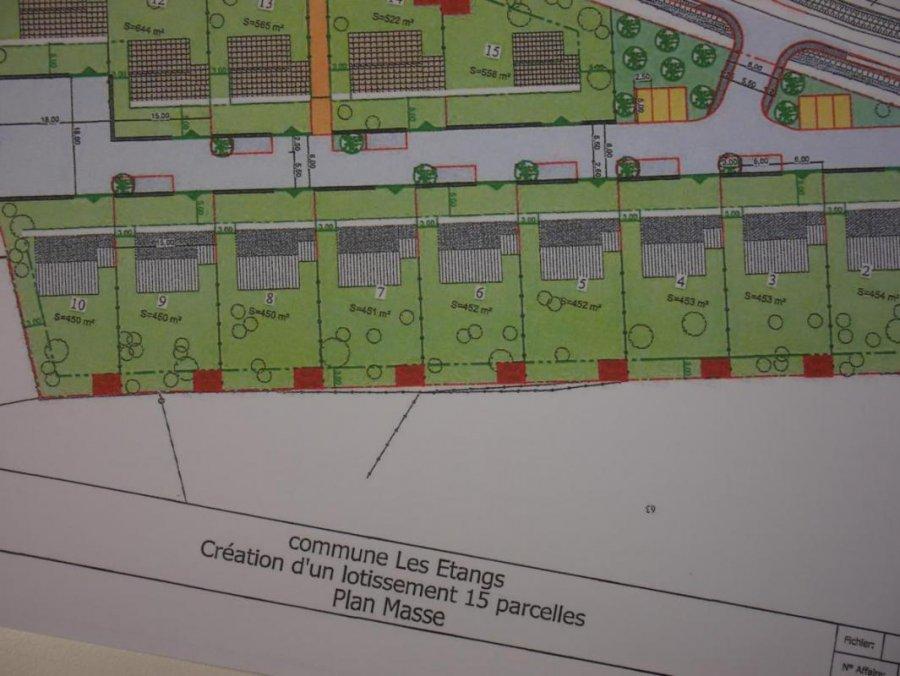 Terrain constructible à vendre à Les etangs